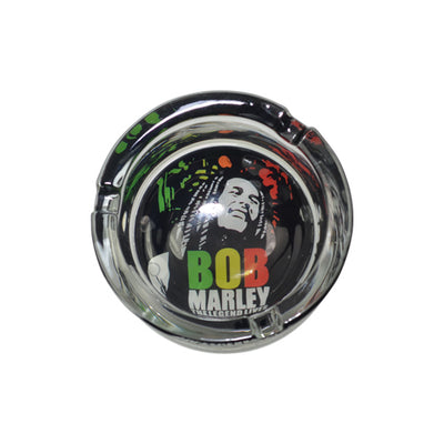 Bob Marley Glass Ashtray for Sale