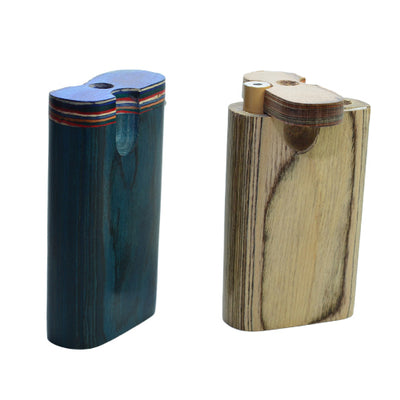 Mini Wooden Dugout Pipe with Turn Top Function