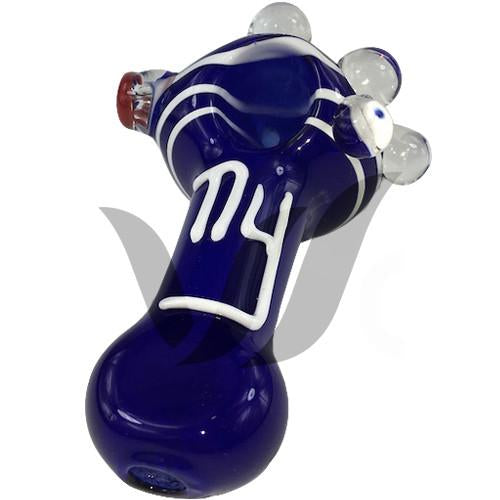 New York Giants Glass Pipe