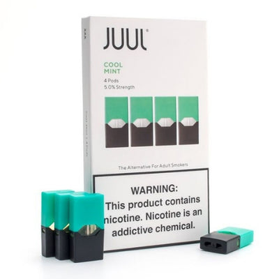 Juul Pod Cool Mint Flavor For Sale