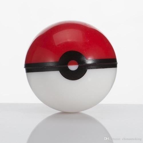 Pokeball Dab Container