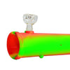 Silicone Steamroller Pipe Rasta Color