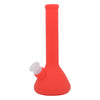 Red Silicone Beaker Bong For Sale