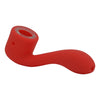 Red SIlicone Sherlock Pipe For Sale