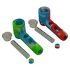 Glass Silicone Sherlock Pipe Parts