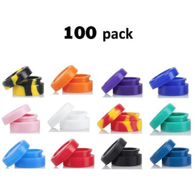 100 Pack of Silicone Dab Containers - Vape Ve Store