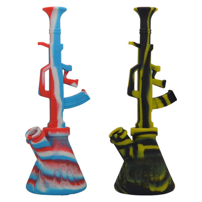 AK47 Silicone Dab Rig For Sale