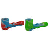Glass Silicone Sherlock Pipe for Sale