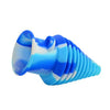 Blue White Silicone Mouthpiece