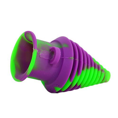 Purple Green Silicone Mouthpiece