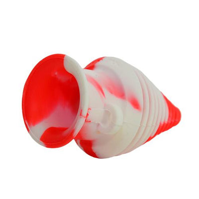 Red White Silicone Mouthpiece