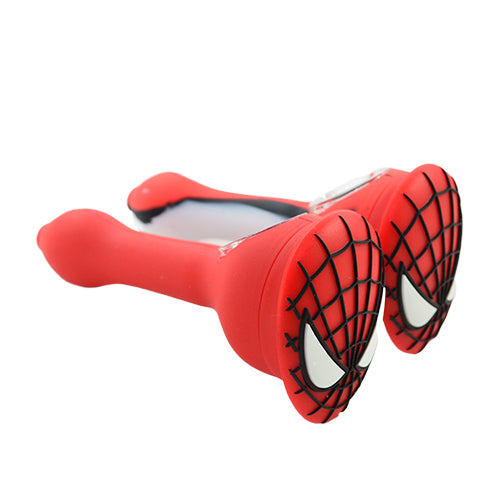 Silicone Spiderman Spoon Pipes