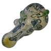 Marble Grip Squiggly Spoon Pipe has color changing effects