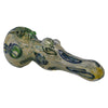 Green Marble Grip Squiggly Spoon Pipe is 5 inches long