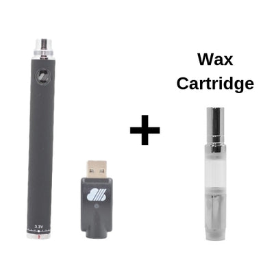 SteamCloud EVOD Vape Battery with Wax Cartridge