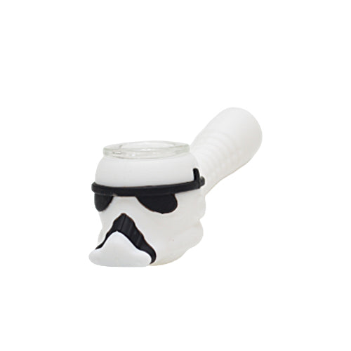 Silicone Stormtrooper Pipe
