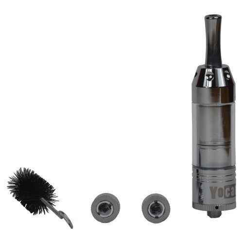 Yocan 94F Dry Herb Atomizer with two extra coils and a cleaning brush - Vape Vet Store