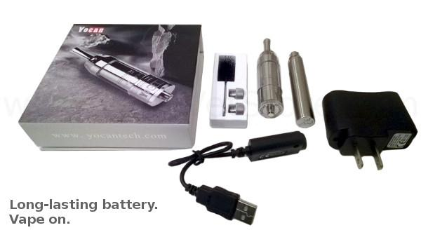 Long-lasting, 1100 mAh battery and charger kit