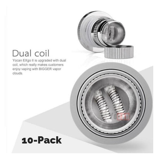 Wax Atomizer Vape Coils for the Yocan ExGo I and II