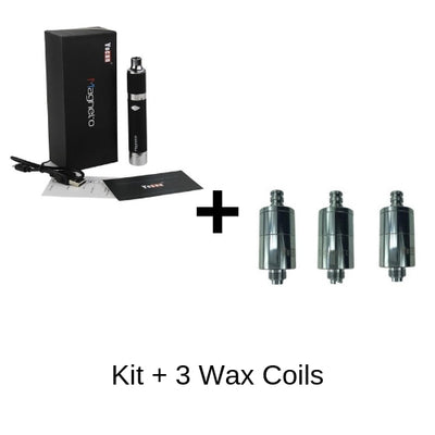 Yocan Magneto Vape Kit with 3 Wax Coils
