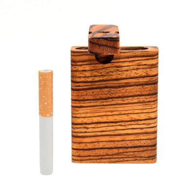 Zebrawood Dugout Pipe by Keystoned Plus