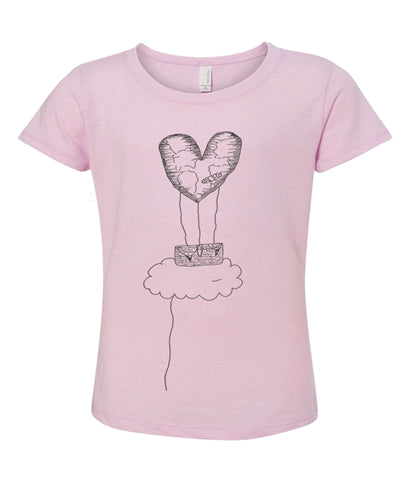 Freedom Lilac Girls' Youth Tee