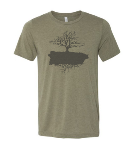 IslaVida-Unisex Heather Olive