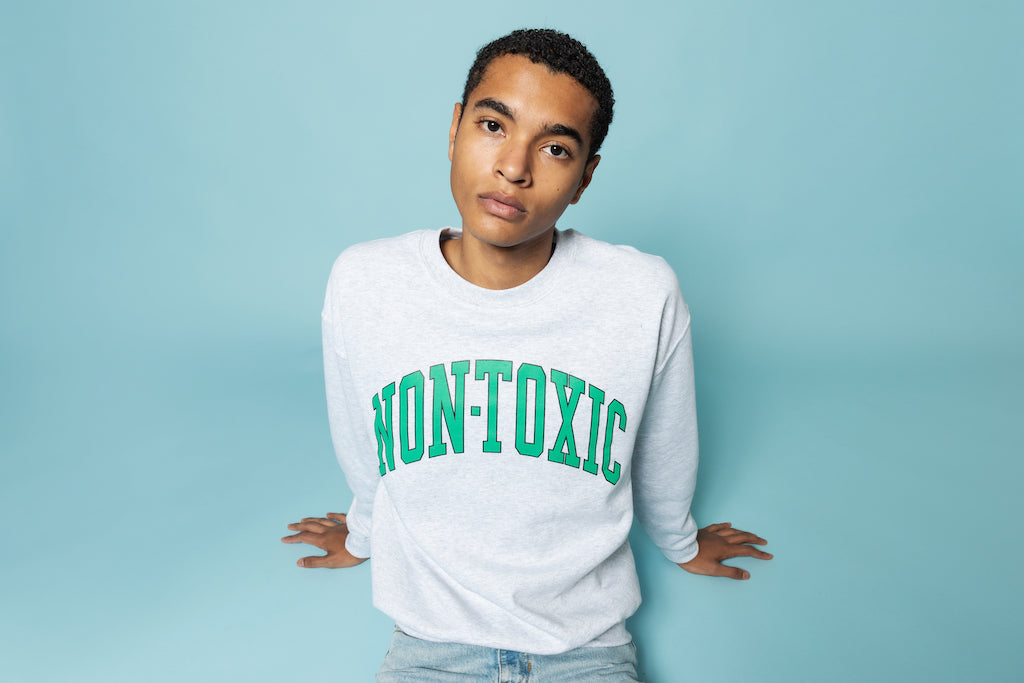 Non-Toxic Sweatshirt in Ash