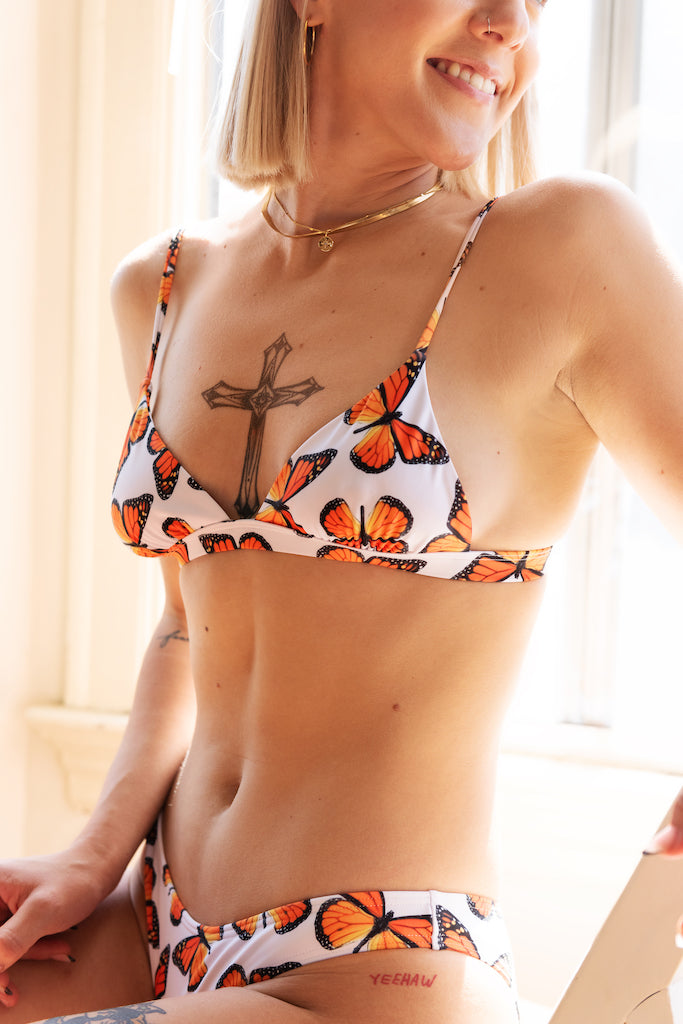 Butterfly Effect Triangle Bikini Top