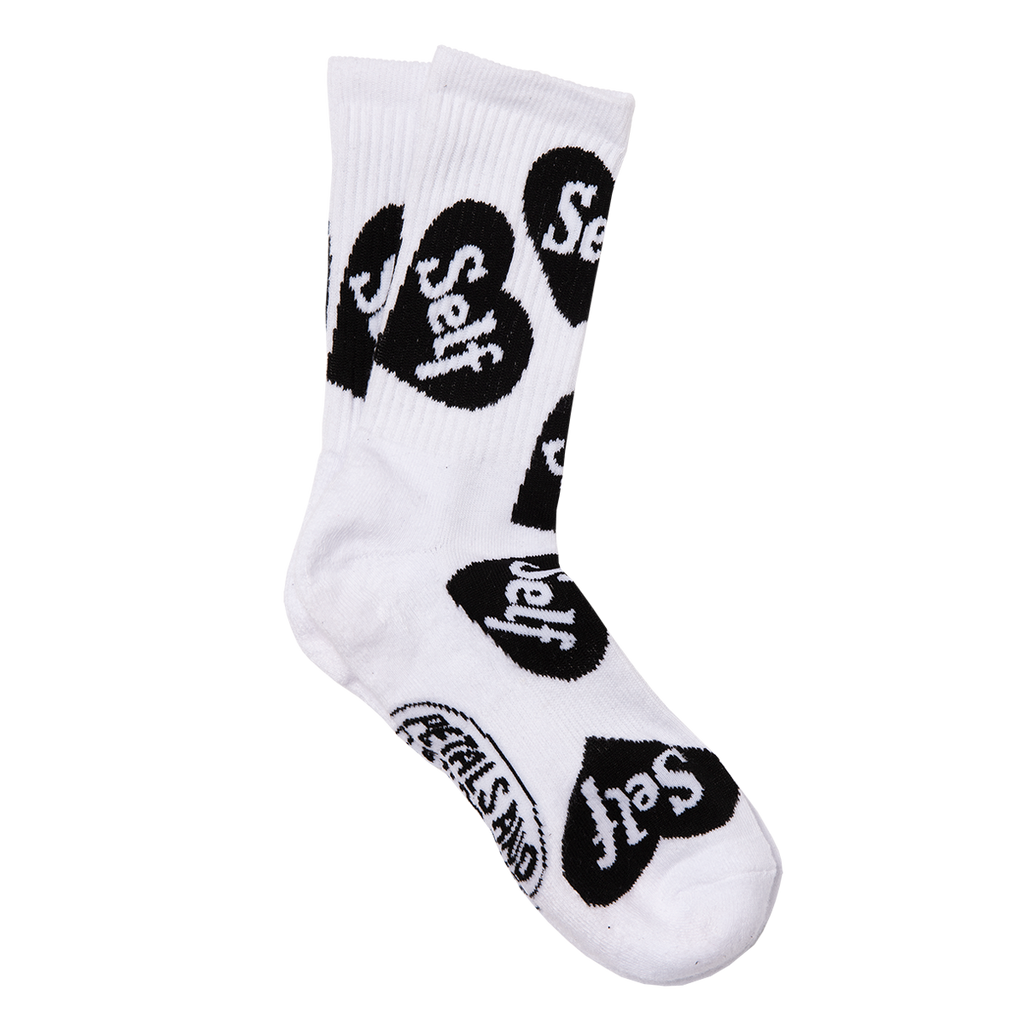 Self Love Socks in White