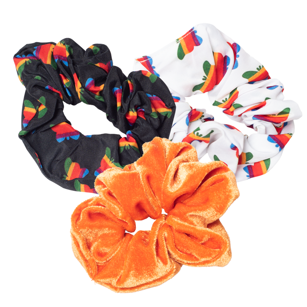 Think Growth 3-pk Scrunchies