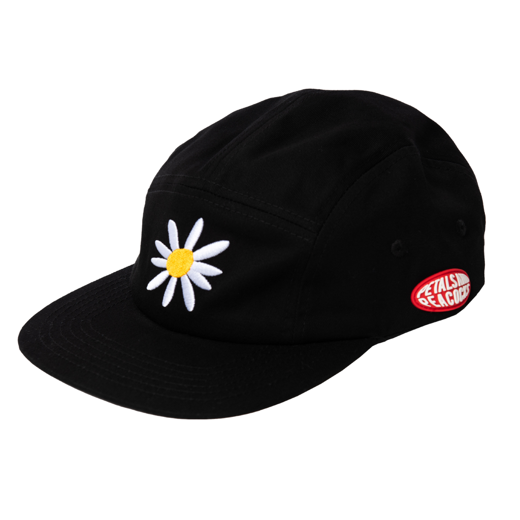 Daisy Camper Hat in Black