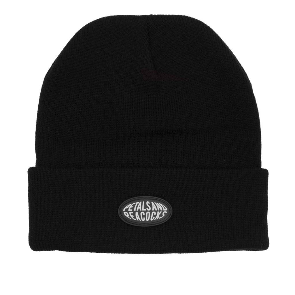 Petals Beanie in Black