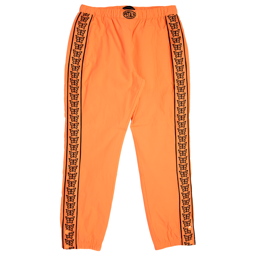 Petals Orange Butterfly Pants