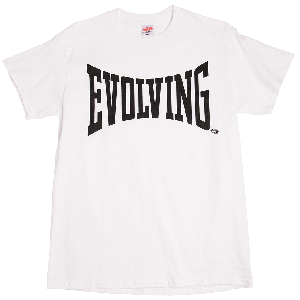Evolving Tee in White