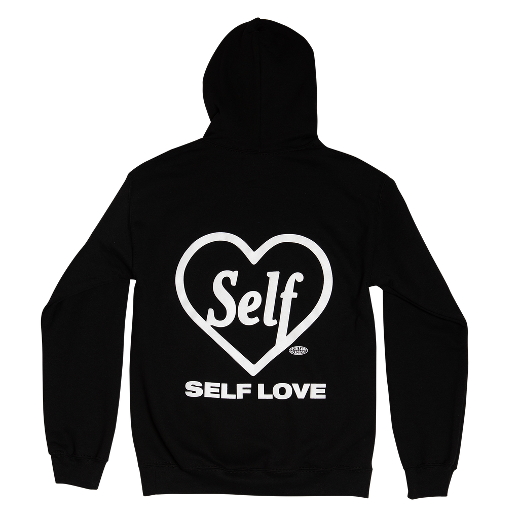 Self Love Hoodie in Black