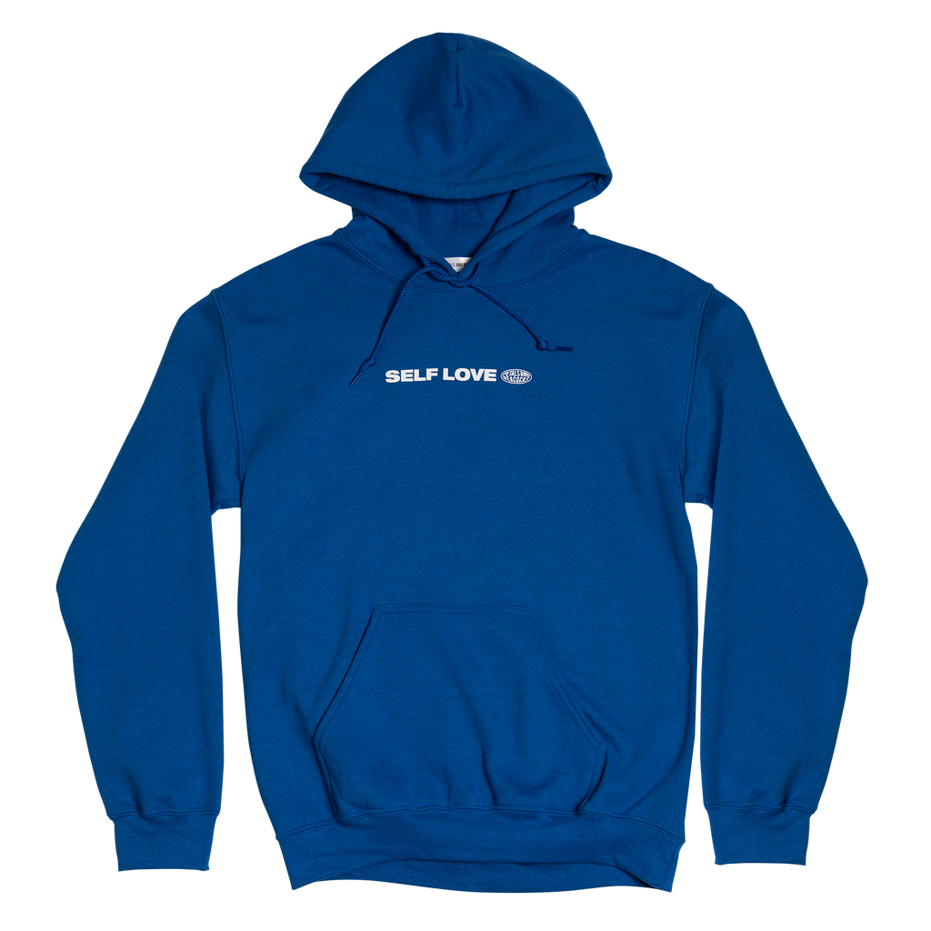 Self Love Hoodie in Blue
