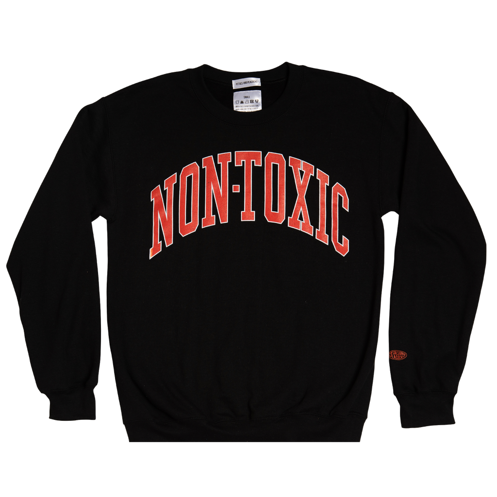 Non-Toxic Sweatshirt in Black