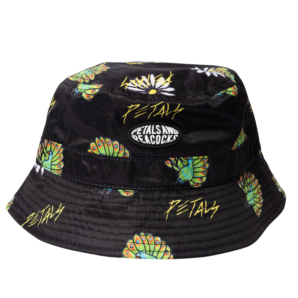 Peacocks & Petals Bucket Hat