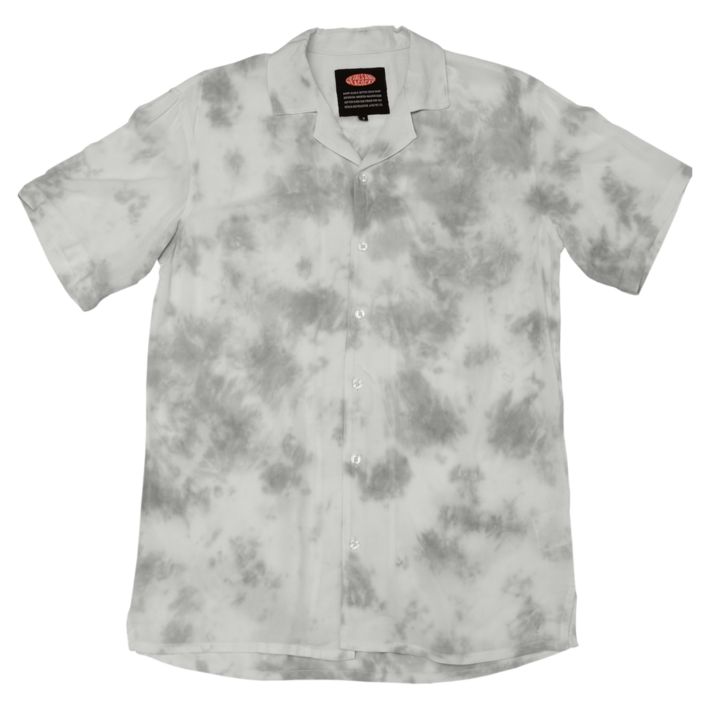 Grey Wash Vacation Shirt