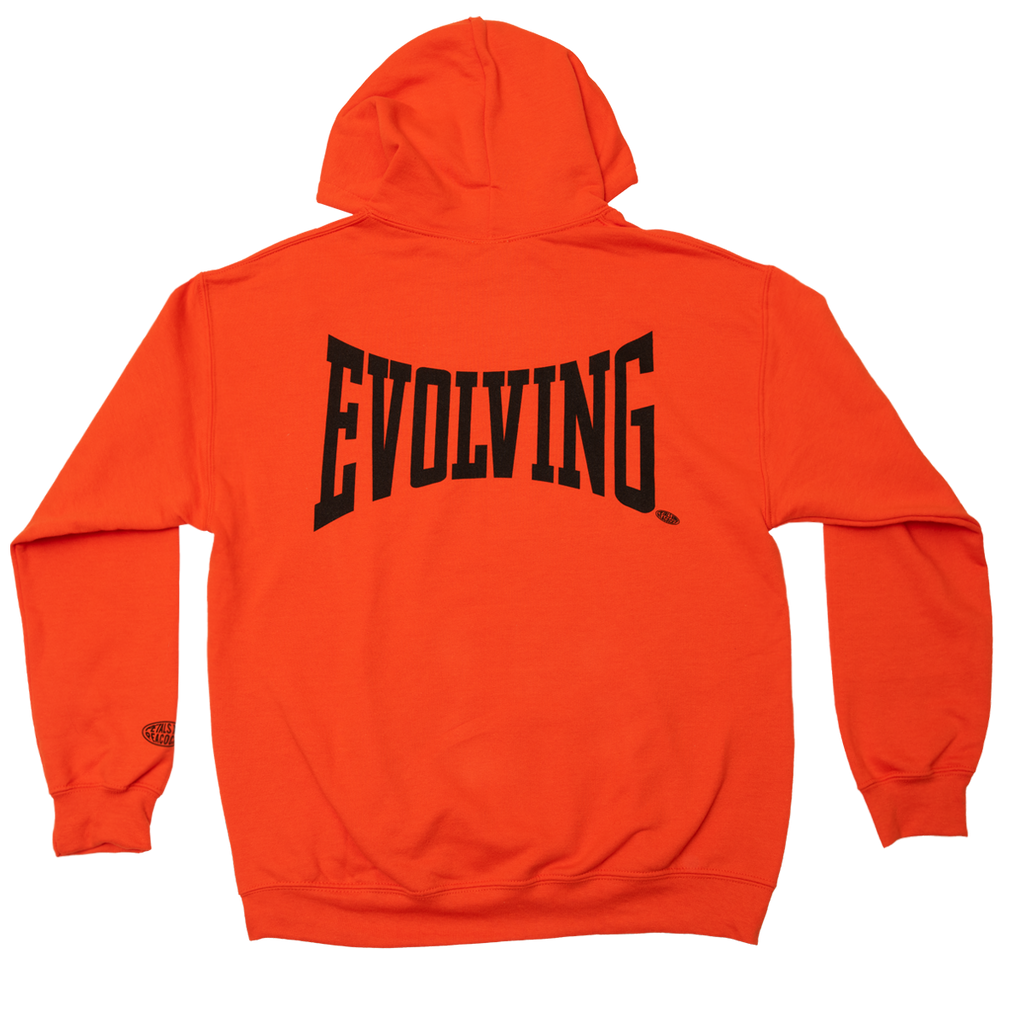 Evolving Hoodie in Orange
