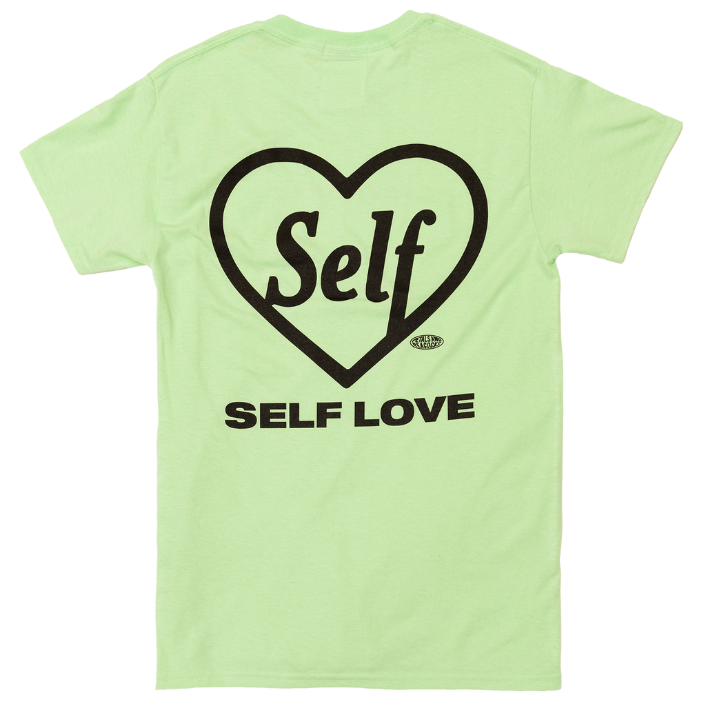 Self Love Tee in Mint