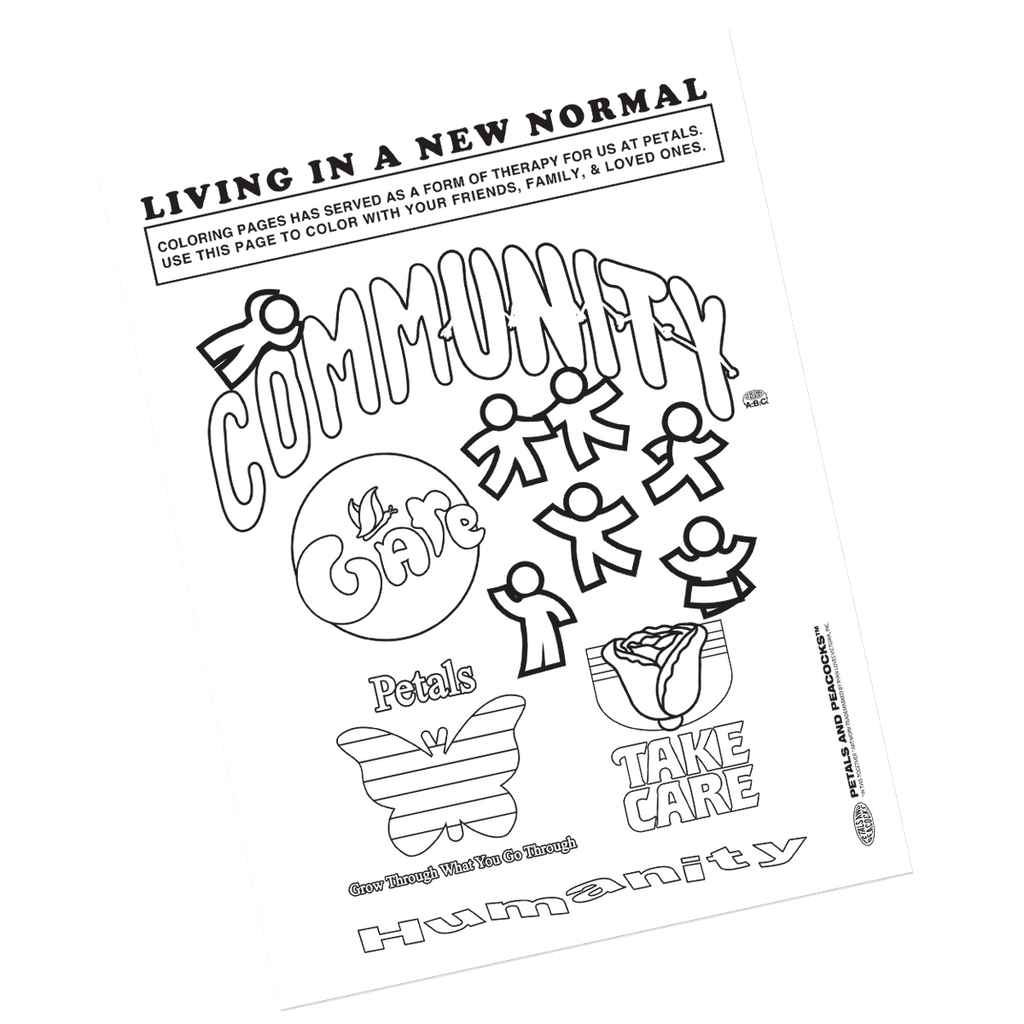 New Normal Coloring Page