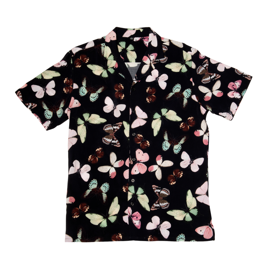 Diversifly Vacation Shirt in Black
