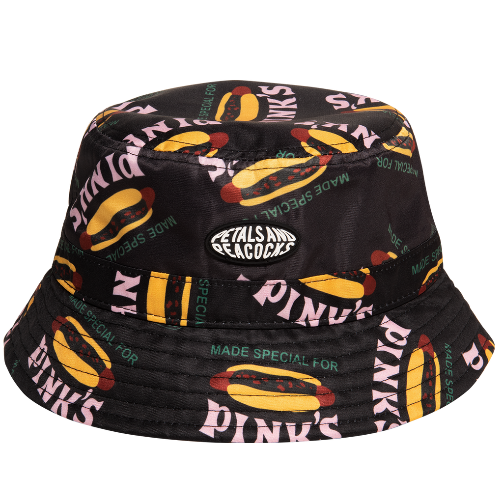 Pink's Made Special Bucket Hat in Black