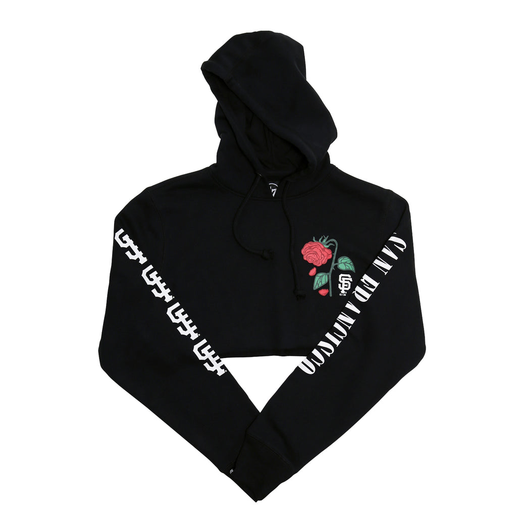 Petals x '47: San Francisco Giants Crop Hoodie