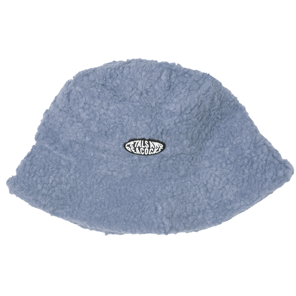 Sherpa Bucket Hat in Light Blue