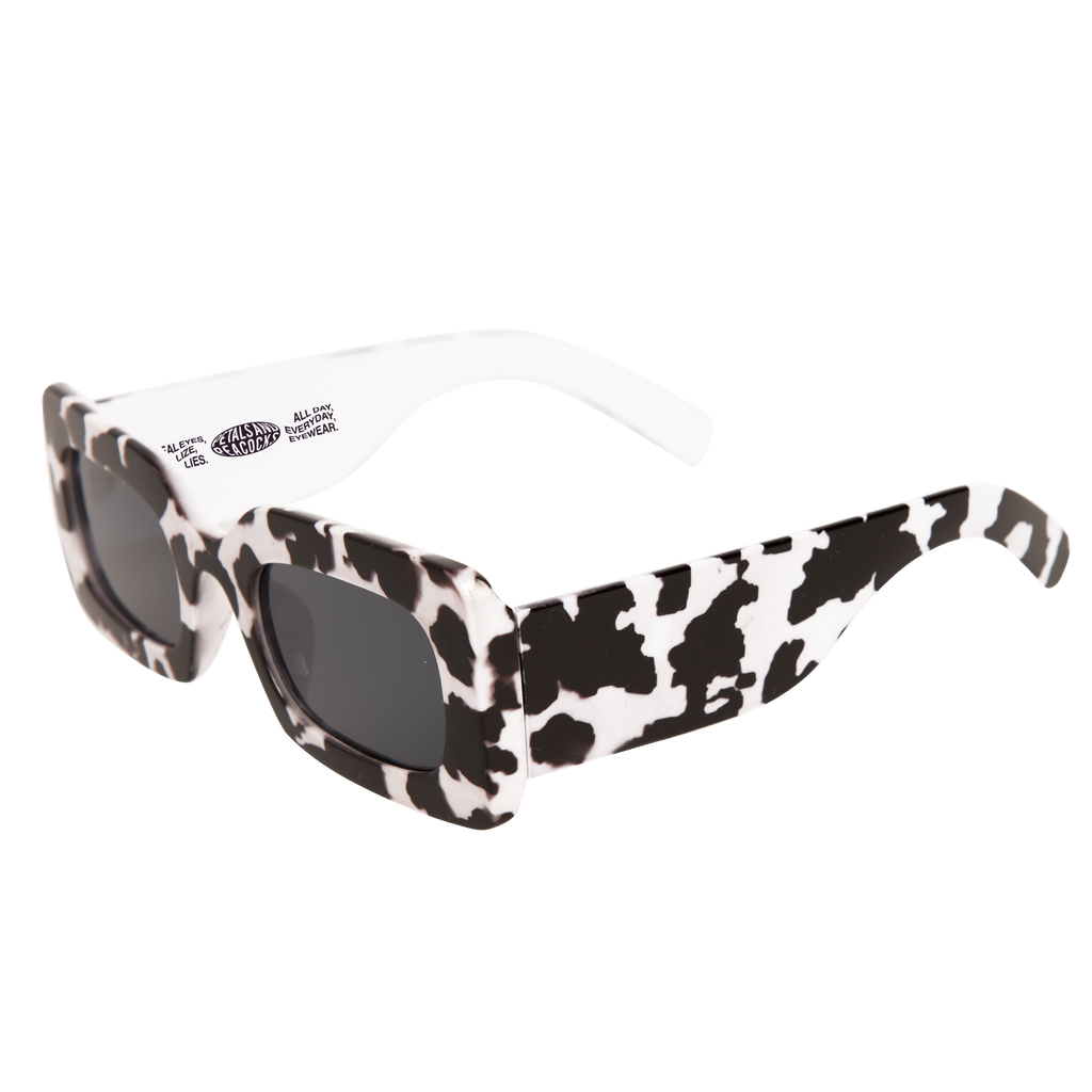 Rhubic Square Sunglasses in Cow