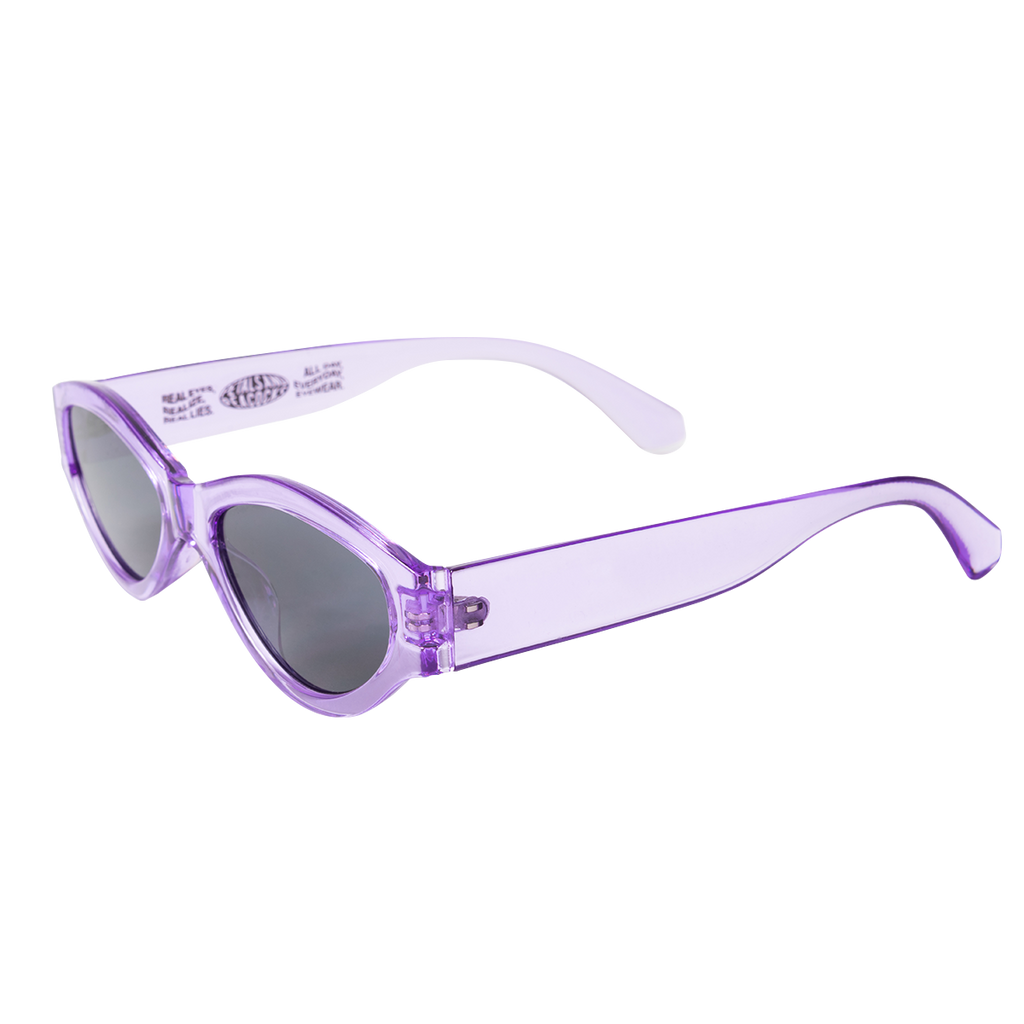 Caution Sunglasses in Purple Haze