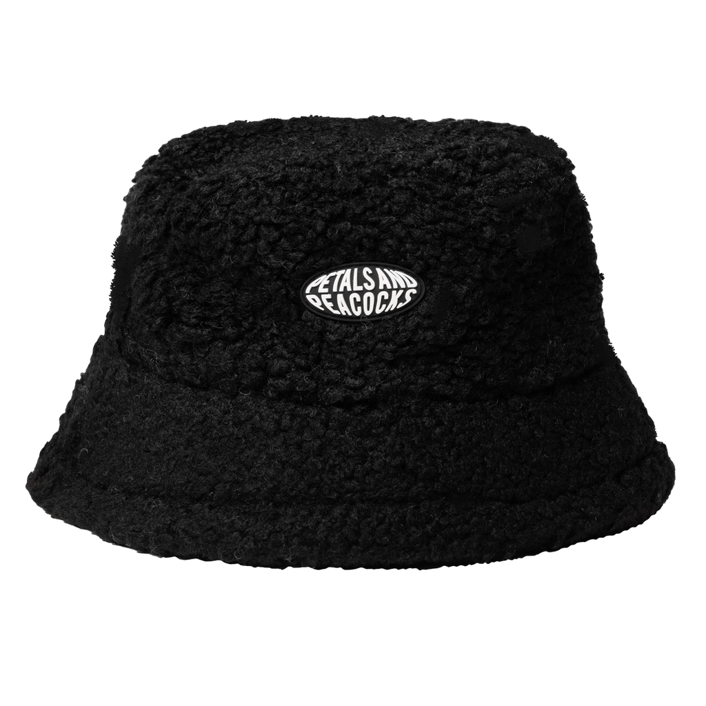 Sherpa Bucket Hat in Black